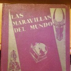 Coleccionismo Álbumes: CHOCOLATES NESTLÉ LAS MARAVILLAS DEL MUNDO 1932 - 65% COMPLETO. Lote 153672798