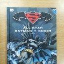 Coleccionismo Álbumes: ALL STAR BATMAN Y ROBIN PARTE 1 (BATMAN Y SUPERMAN COLECCIONABLE #1) (ECC EDICIONES). Lote 154282434