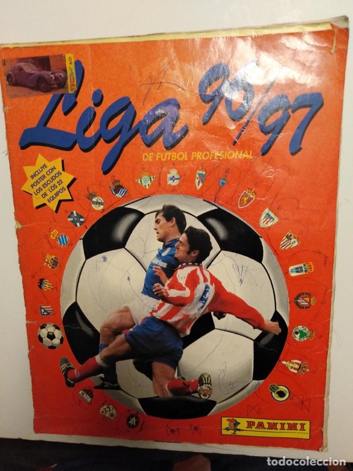 f0b79f171 ALBUM LIGA 95-96 PANINI (Coleccionismo - Cromos y Álbumes - Álbumes  Incompletos)