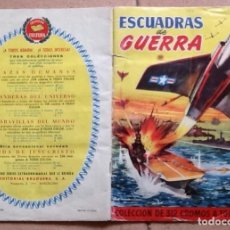 Coleccionismo Álbumes: ESCUADRAS DE GUERRA, ALBUM A FALTA DE 46 DE 312. Lote 154557666