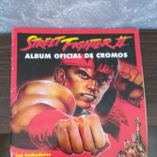 Collectionnisme Albums: ALBUM DE CROMOS STREET FIGHTER II CAOCOM MERLIN COLLECTIONS. Lote 154563190