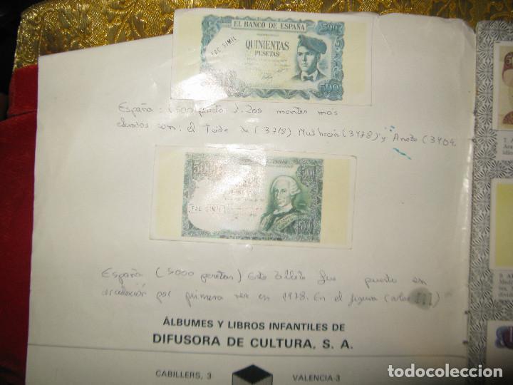 Coleccionismo Álbumes: faltan 7 cromos album todos los paises mas 12 cromos repetidos miren fotos - Foto 3 - 154760418