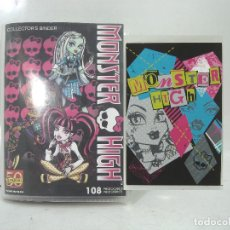 Coleccionismo Álbumes: LOTE 97X PHOTOCARDS MONSTER HIGH-PANINI 2011 ¡¡SIN REPETIR¡¡VER LISTADO-POSTALES COLLECTORS POSTAL. Lote 154864602