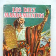 Coleccionismo Álbumes: LOS DIEZ MANDAMIENTOS. ALBUM DE CROMOS EDITORIAL BRUGUERA. AÑO1959.. Lote 154975758