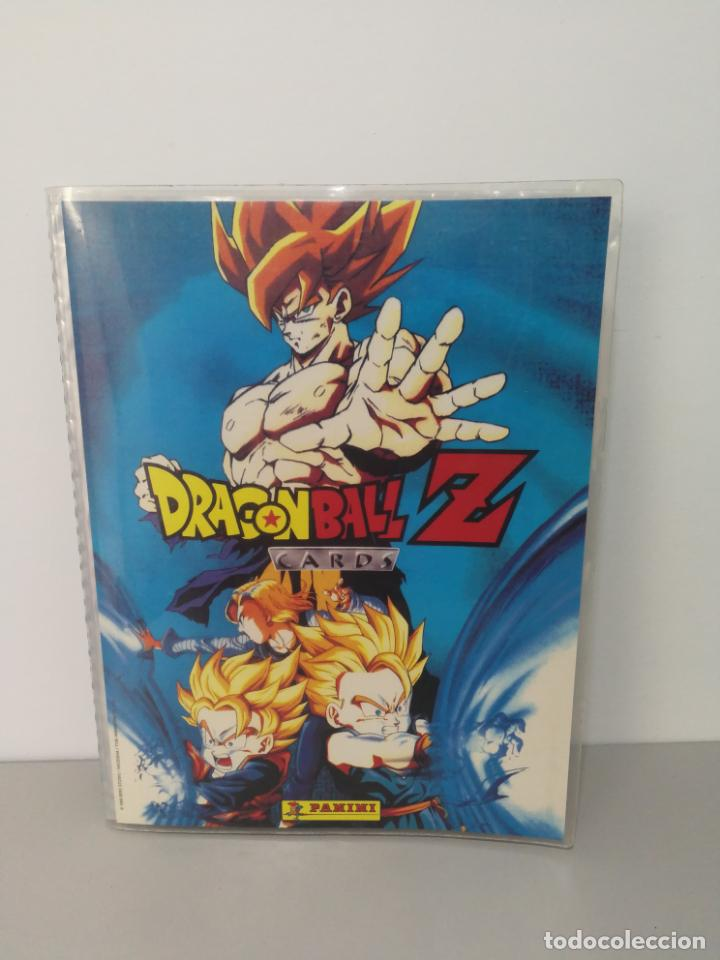 ALBUM DRAGON BALL Z CARDS (Coleccionismo - Cromos y Álbumes - Álbumes Incompletos)