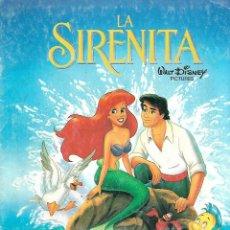 Coleccionismo Álbumes: LA SIRENITA - FALTA UN ADHESIVO. Lote 157735150