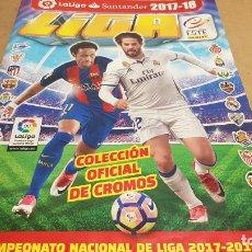 Coleccionismo Álbumes: LA LIGA SANTANDER / 2017-18 / ÁLBUM CON MÁS DE 300 CROMOS / ALGUNA PÁGINA SUELTA / BUENA CALIDAD.. Lote 178101733