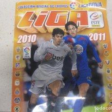 Coleccionismo Álbumes: ALBUM FUTBOL LIGA 2010 2011. Lote 157960978