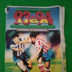 Coleccionismo Álbumes: ALBUM CROMOS EDICIONES ESTE TEMPORADA 93 94 1993 1994 BAJAS COLOCAS FICHAJES VERSIONES . Lote 158463202