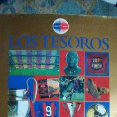 Coleccionismo Álbumes: ALBUM LOS TESOROS DEL BARCA. PLANCHA. Lote 158905930
