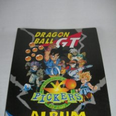 Coleccionismo Álbumes: DIFÍCIL ÁLBUM DRAGON BALL GT PICKERS DE MAGIC BOX INT. AÑO 1996 - BOLA DE DRAGÓN -. Lote 159830270