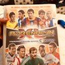 Coleccionismo Álbumes: ÁLBUM DE FÚTBOL ADRENALYN 2010 / 2011 - SOLO - FALTAN 11 CROMOS PARA COMPLETAR. Lote 160160784
