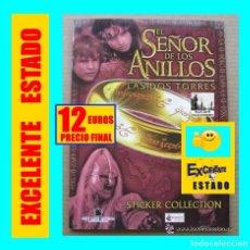 Coleccionismo Álbumes: EL SEÑOR DE LOS ANILLOS - LAS DOS TORRES - STICKER COLLECTION - 2002 - SEMINUEVO. Lote 160311434