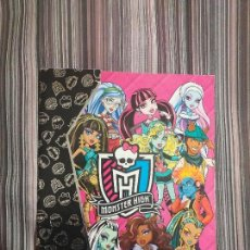 Coleccionismo Álbumes: ÁLBUM CROMOS INCOMPLETO MONSTER HIGH PANINI MATTEL 2012. Lote 160554166