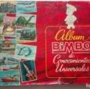 Coleccionismo Álbumes: ALBUM CROMOS CONOCIMIENTOS UNIVERSALES. Lote 160731322
