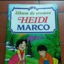 Coleccionismo Álbumes: ÁLBUM HEIDI MARCO CASI VACIO. Lote 160732453