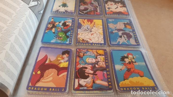 Coleccionismo Álbumes: DRAGON BALL Z / ARCHIVADOR CON 219 CARDS / SERIE AZUL Y SERIE 2 / MUY BUEN ESTADO. - Foto 2 - 160983318