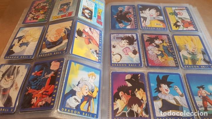 Coleccionismo Álbumes: DRAGON BALL Z / ARCHIVADOR CON 219 CARDS / SERIE AZUL Y SERIE 2 / MUY BUEN ESTADO. - Foto 7 - 160983318
