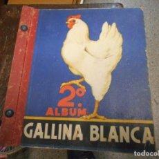 Coleccionismo Álbumes: ALBUM CROMOS GALLINA BLANCA NUMERO 2 CASI COMPLETO FOTOS DE TODO. Lote 161002182