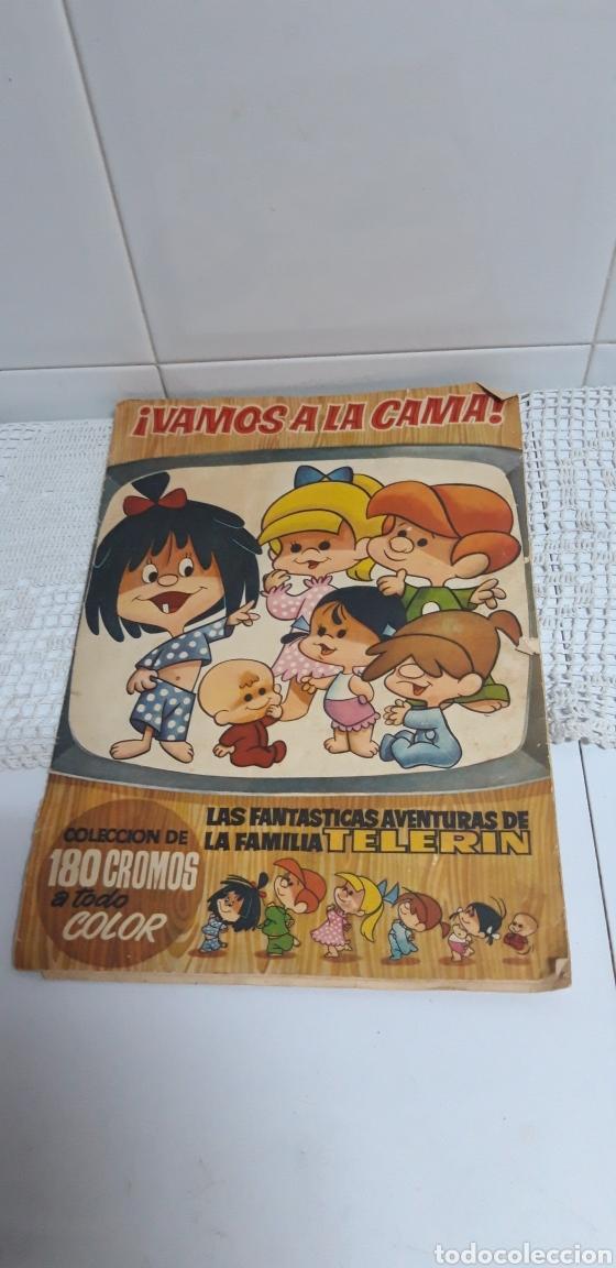 ALBUM CROMOS TELERIN VAMOS A LA CAMA (Coleccionismo - Cromos y Álbumes - Álbumes Incompletos)