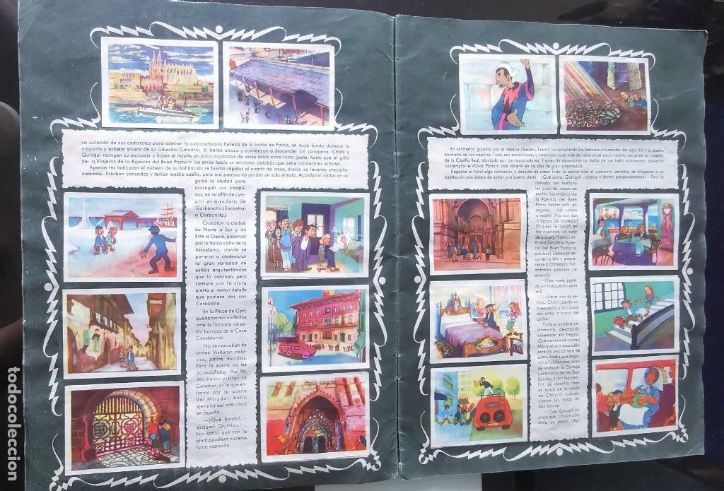 Coleccionismo Álbumes: ÁLBUM CROMOS GARBANCITO DE LA MANCHA - ALEGRES VACACIONES ED. RUÑIZ ROMERO - Foto 4 - 161467238