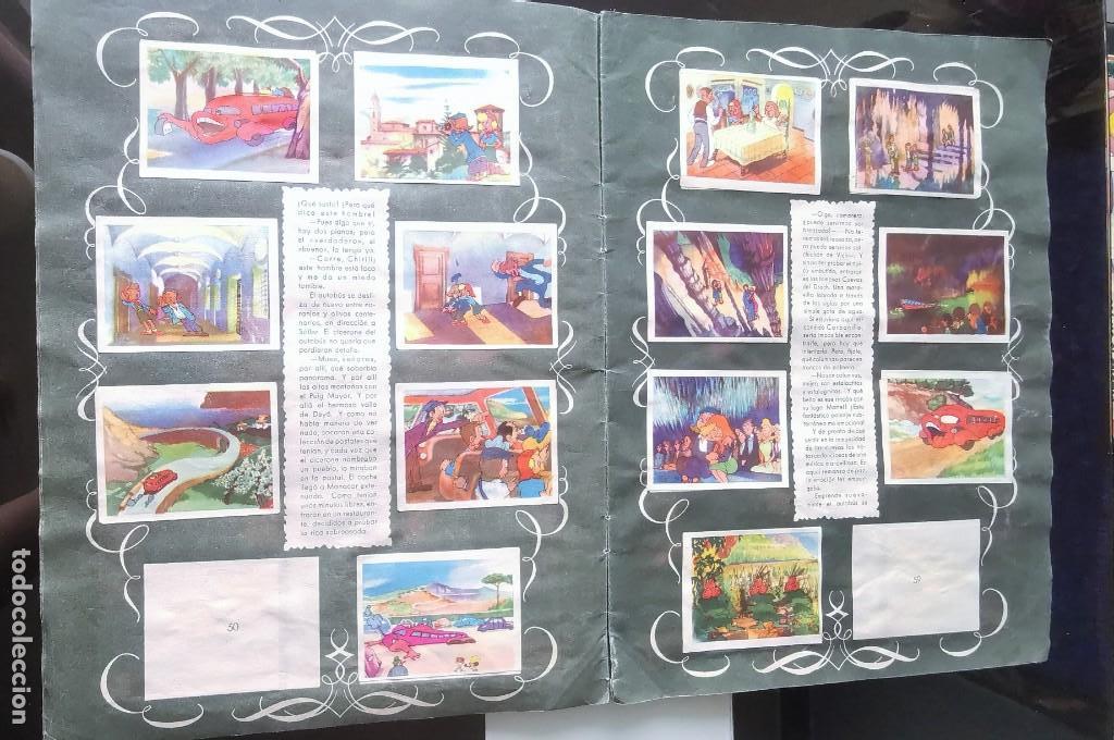 Coleccionismo Álbumes: ÁLBUM CROMOS GARBANCITO DE LA MANCHA - ALEGRES VACACIONES ED. RUÑIZ ROMERO - Foto 5 - 161467238