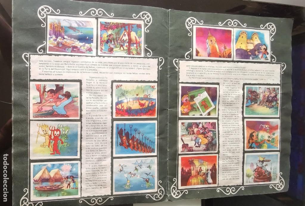 Coleccionismo Álbumes: ÁLBUM CROMOS GARBANCITO DE LA MANCHA - ALEGRES VACACIONES ED. RUÑIZ ROMERO - Foto 6 - 161467238