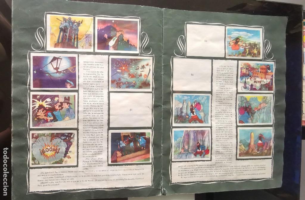 Coleccionismo Álbumes: ÁLBUM CROMOS GARBANCITO DE LA MANCHA - ALEGRES VACACIONES ED. RUÑIZ ROMERO - Foto 7 - 161467238