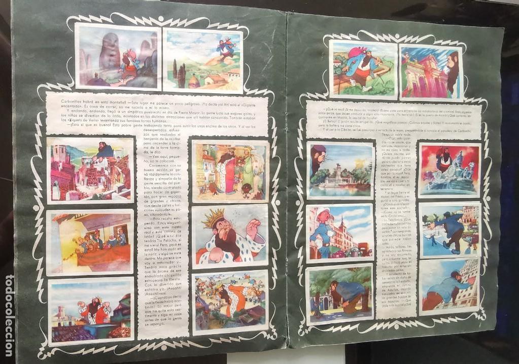 Coleccionismo Álbumes: ÁLBUM CROMOS GARBANCITO DE LA MANCHA - ALEGRES VACACIONES ED. RUÑIZ ROMERO - Foto 8 - 161467238