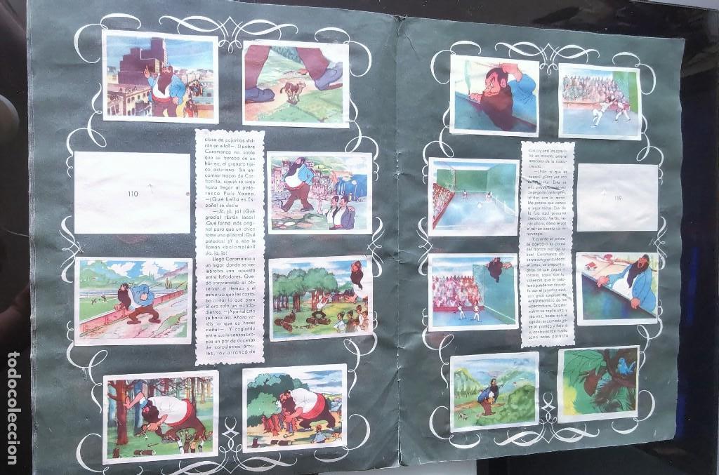 Coleccionismo Álbumes: ÁLBUM CROMOS GARBANCITO DE LA MANCHA - ALEGRES VACACIONES ED. RUÑIZ ROMERO - Foto 9 - 161467238