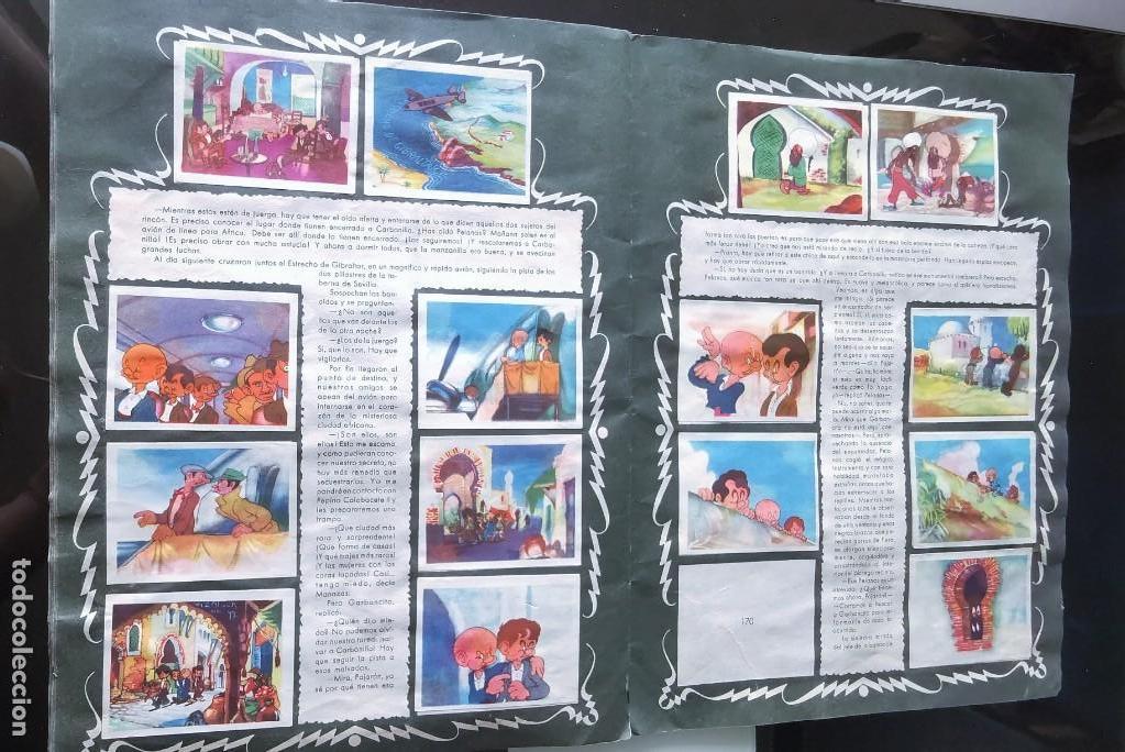 Coleccionismo Álbumes: ÁLBUM CROMOS GARBANCITO DE LA MANCHA - ALEGRES VACACIONES ED. RUÑIZ ROMERO - Foto 12 - 161467238