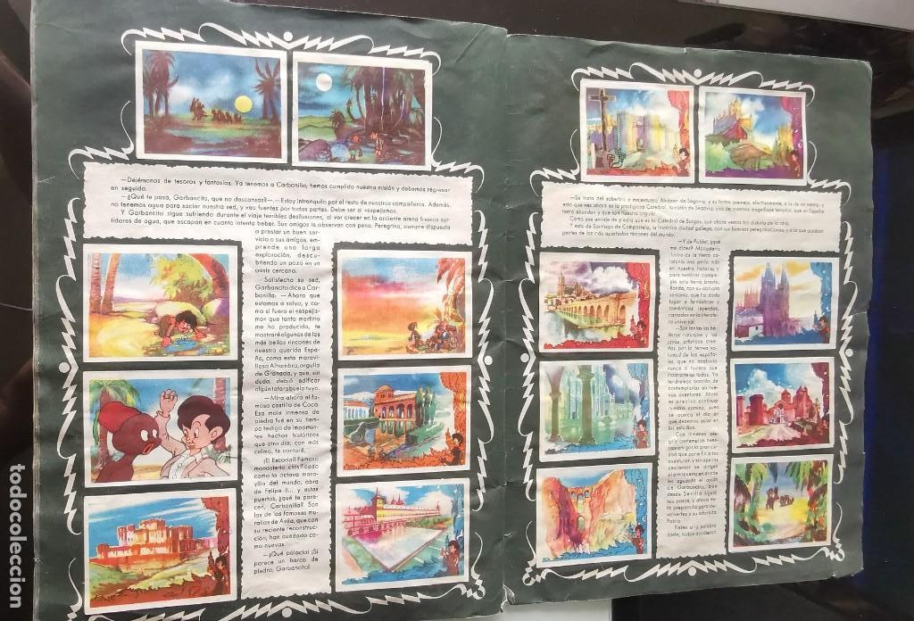 Coleccionismo Álbumes: ÁLBUM CROMOS GARBANCITO DE LA MANCHA - ALEGRES VACACIONES ED. RUÑIZ ROMERO - Foto 16 - 161467238