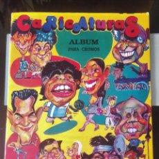Collectionnisme Albums: ÁLBUM CROMOS CARICATURAS ED. MILANO. Lote 161468278