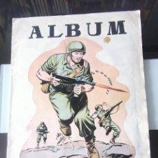 Coleccionismo Álbumes: ÁLBUM CROMOS HAZAÑAS BÉLICAS ED. TORAY. Lote 161470546