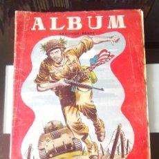 Coleccionismo Álbumes: ÁLBUM CROMOS HAZAÑAS BÉLICAS SEGUNDA GUERRA MUNDIAL- SEGUNDA PARTE - ED. TORAY. Lote 161471482