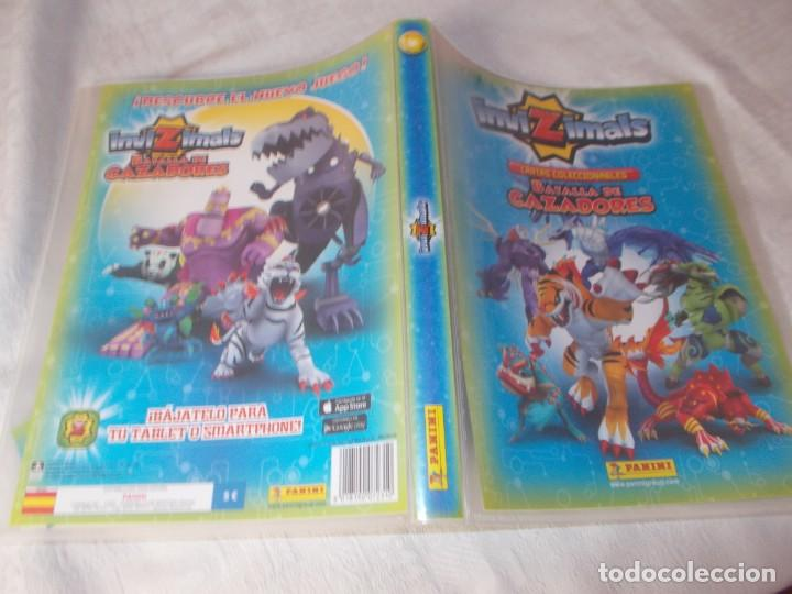 Coleccionismo Álbumes: INVIZIMALS Batalla de Cazadores con 4 Cartas Edición Limitada - Foto 2 - 161886710