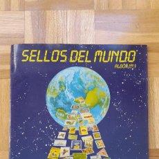 Coleccionismo Álbumes: ALBUM CROMOS SELLOS DEL MUNDO - (FALTAN 6 CROMOS) - VER FOTOS ADICIONALES. Lote 162212450