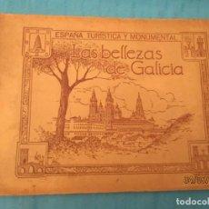 Coleccionismo Álbumes: LAS BELLEZAS DE GALICIA SALVADOR GIL CAÑELLAS. Lote 162331962