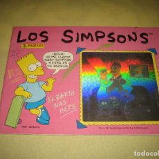 Coleccionismo Álbumes: LOS SIMPSONS - ALBUM INCOMPLETO - FALTAN 33 CROMOS . Lote 162338078