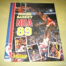 Coleccionismo Álbumes: NBA BASKET 89 - ALBUM INCOMPLETO - FALTAN 20 CROMOS. Lote 162338486