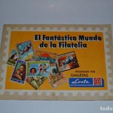 Coleccionismo Álbumes: EL FANTASTICO MUNDO DE LA FILATELIA DE GALLETAS LOSTE. Lote 162408454