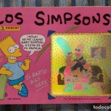 Coleccionismo Álbumes: ALBUM DE CROMOS LOS SIMPSONS (INCOMPLETO) (PANINI 1991). Lote 162561798