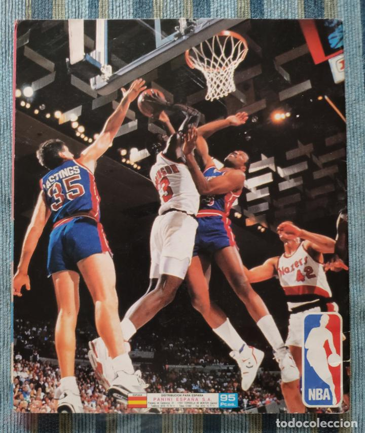 Coleccionismo Álbumes: ALBUM DE CROMOS PANINI BASKET NBA 91 (INCOMPLETO) (PANINI 1991) - Foto 2 - 162562850