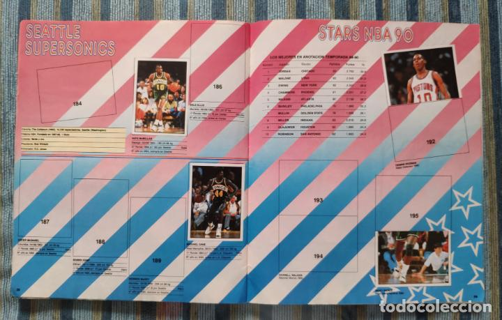 Coleccionismo Álbumes: ALBUM DE CROMOS PANINI BASKET NBA 91 (INCOMPLETO) (PANINI 1991) - Foto 3 - 162562850