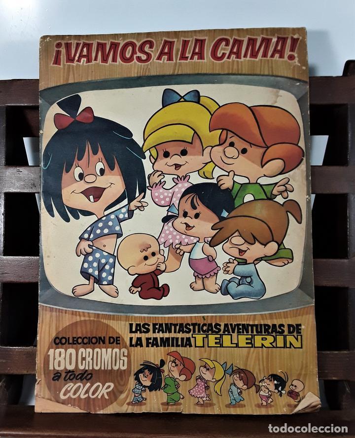 ÁLBUM DE 180 CROMOS. VAMOS A LA CAMA. INCOMPLETO. EDIT. BRUGUERA. BARCELONA. 1965. (Coleccionismo - Cromos y Álbumes - Álbumes Incompletos)