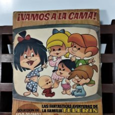 Coleccionismo Álbumes: ÁLBUM DE 180 CROMOS. VAMOS A LA CAMA. INCOMPLETO. EDIT. BRUGUERA. BARCELONA. 1965.. Lote 163015758