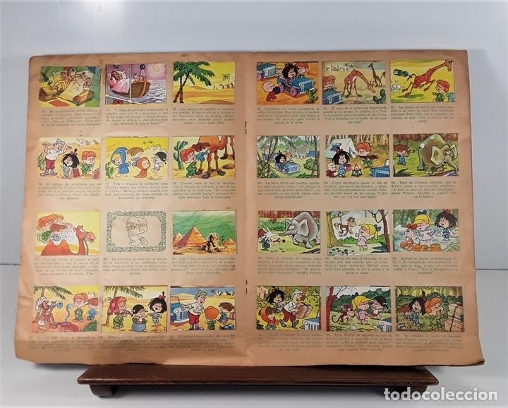 Coleccionismo Álbumes: ÁLBUM DE 180 CROMOS. VAMOS A LA CAMA. INCOMPLETO. EDIT. BRUGUERA. BARCELONA. 1965. - Foto 3 - 163015758