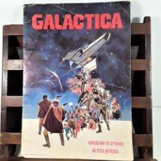 Coleccionismo Álbumes: ÁLBUM DE CROMOS. GALACTICA. INCOMPLETO. EDITORIAL MAGA. VALENCIA. 1979.. Lote 163019738