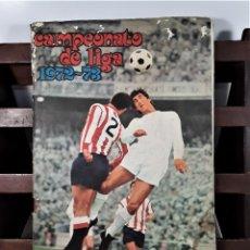 Coleccionismo Álbumes: ÁLBUM DE CROMOS. CAMPEONATO DE LIGA 1972/73. INCOMPLETO. EDIT. FHER. BILBAO. 1972.. Lote 163028102