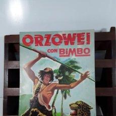Coleccionismo Álbumes: ÁLBUM DE CROMOS. ORZOWEI. INCOMPLETO. EDIT. MERCHANDISING. SIGLO XX.. Lote 163037498
